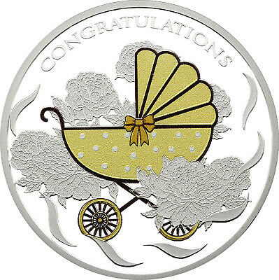 BABY PRAM 1 oz Silver Coin 2018 Tokelau - IN HAND!