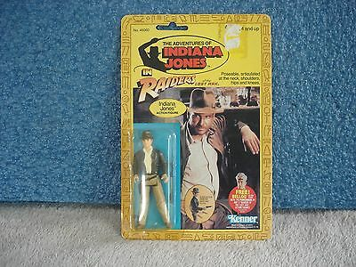 1982 Kenner Raiders of the Lost Ark Indiana Jones MOC !!!!