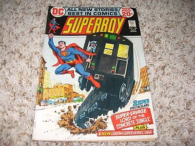 Superboy #188 (DC, 1972) – Origin of Karkan – Legion of Super-Heroes – VF-