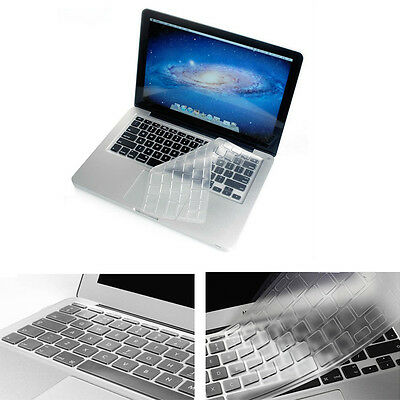 "Ultrathin Clear TPU Keyboard Cover Skin For Apple Macbook Pro 13"" 15"" Retina New"