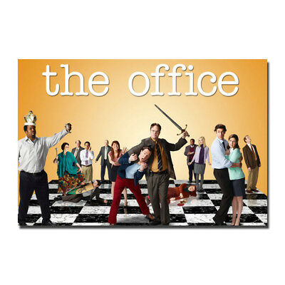 The Office TV Series Silk Poster Wall Art Canvas Print Room Decor 12x18 24x36