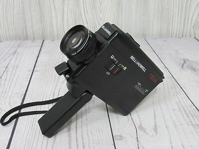 Bell Howell T20 XL Travelmate Super 8 Movie Camera T20XL Zoom VINTAGE *WORKS*