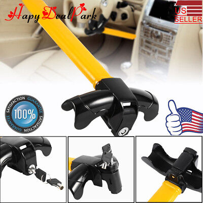 Universal Steering Wheel Hook Lock Anti-Theft Device Car SUV Truck Auto Security