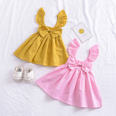 Toddler Infant Kids Baby Girls Princess Party Pageant Tutu Dress Summer Clothes