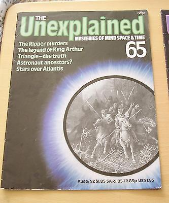 The Unexplained Magazine No 65. Paranormal Etc