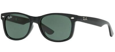 Ray Ban 9052S 9052/s 47 Junior 100/71 Sunglasses Polished Black Kids Occhiale