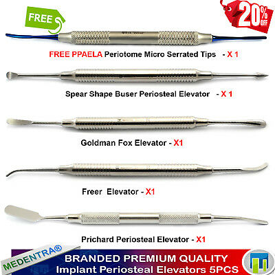 Dental Implant Periosteal Elevators TUNNELING Periotome PPAELA Gum Tissue PDL X5