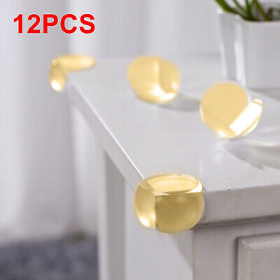 12x Kids Safety Soft PVC Desk Table Corner Cushions Guards Protectors HOT