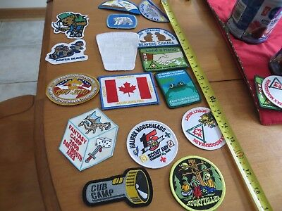 Variety Of Canadian Boy Scout, Girl Guide, Cubs, Beavers Patches