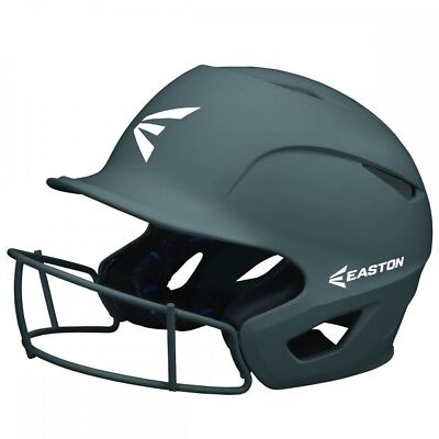 Easton Prowess Grip Fastpitch Softball Batting Helmet w/ Facemask SM/M CHARCOAL
