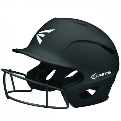 Easton Prowess Grip Fastpitch Softball Batting Helmet w/ Facemask SM/MD BLACK