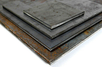 4.0MM & 5.0MM Thick Mild Steel Sheet Plate - Popular Pre Cut Sizes