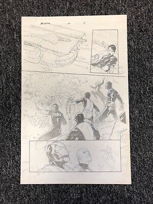 Esad Ribic X-Men Battle of the Atom Original Comic Art (Marvel Comics)