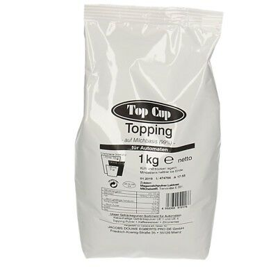 Top Cup Topping Milchpulver 1kg Vending 01/2019