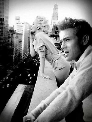 James Dean Marilyn Monroe Smoking A3 A4 Poster Print Art Buy 2 Get 1 Free