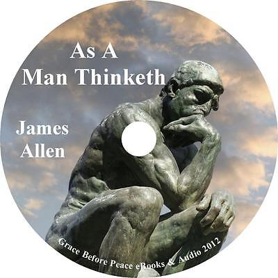 As a Man Thinketh, James Allen Success Audiobook unabridged on 1 Audio CD