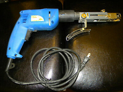 "Drywall Self Feeding Screw Gun - Corded - 6"" Extention"