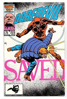 Daredevil  #231   Vfn/ Vfn +   Marvel Comic 1986  Very Clean  5