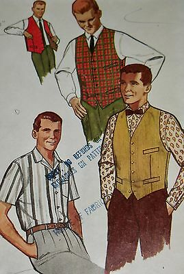 Men, Patterns, Sewing (1930-Now), Collectibles Page 5
