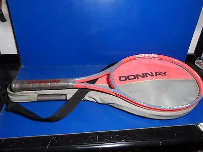 Donnay Belgium Pro One Mid Orange Grey Version NOS Limited Edition Andre Agassi