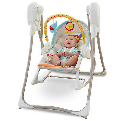 Baby Bouncer Swing Rocker Chair Toys Fisher Price Infant Toddler Boy Girl Seat