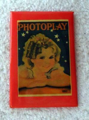 Shirley Temple Photoplay Pocket Mirror #jf6