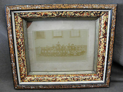 Antique Aesthetic Movement Victorian Deep Picture Frame