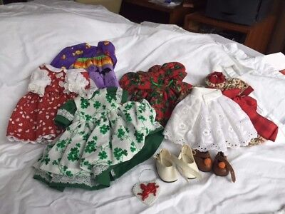 Madame Alexander (For 8-inch doll) Doll Dresses, Petticoat, Shoes New (no Tags)