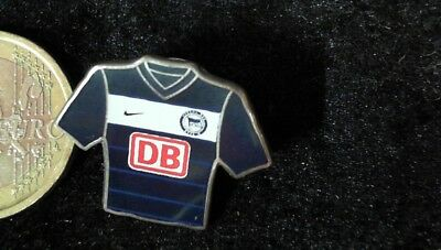 Fussball Pin Badge Trikot ohne Patch 2010/11 Hertha BSC Berlin Home DB Bahn