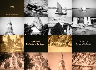 400ft 16mm Home Movies: SIAM 1930