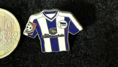 Fussball Pin Badge Hertha BSC Berlin Trikot ohne Continetale 99/00 Home