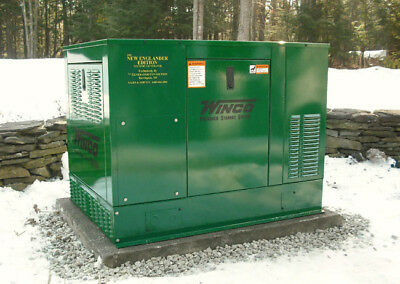 Winco PSS12H2W 12kW Generator HondaGX690  120/240 Propane Low hours Excellent