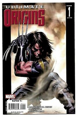Ultimate Origins #1 2 3 4 5 Full Set Marvel Captain America Hulk Nick Fury X-Men