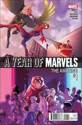 A Year Of Marvels (2016)    #1 to 5 Complete   NM- to NM/M