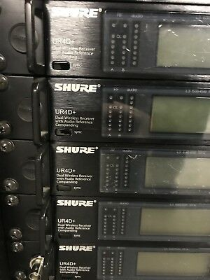 Shure UR4D+ With HH Or Beltpack Combo