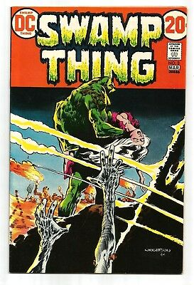 Swamp Thing 3 Wrightson HIGH GRADE VF/NM Bronze Age Horror