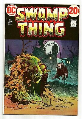 Swamp Thing 4 Wrightson HIGH GRADE NM- 9.2 Bronze Age Horror