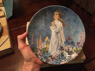 Bradford Exchange Knowles Reco Twinkle Twinkle Little Star Plate 1st Issue VTG