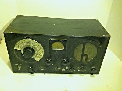 Vintage Hallicrafters Sky Buddy Tube Short Wave Ham Radio Model H-1531S9?