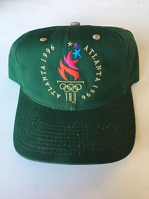 UNUSED NEW 1996 Atlanta 100 year OLYMPICS snapback hat - made by the game - GOLD