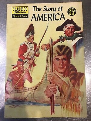 Classics Illustrated  #132A  The Story of America