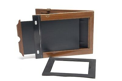 Film Holder  Doppelkassette Wet plate Collodion  18x24 und 13X18