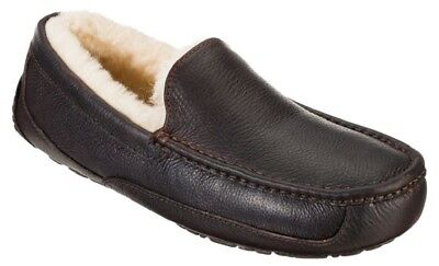 Shoes Men's UGG Ascot Leather Slippers China Tea Color Sz 11 Imported