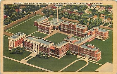 Kansas City~University Of Kansas Hospitals~1949 Clarence Luttrell of Paris MO
