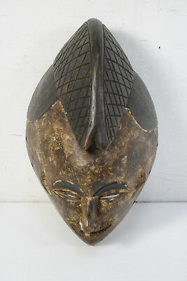 Primative Art Tribal Wood Wall Mask