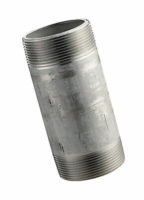 """Stainless Steel 304/304L Pipe Fitting, Nipple, Schedule 40 Welded, 3/8"""" X 5"""" ..."""