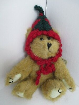 "Boyds Bear Archive Series 7"" 'Big Boy Tomato' bear in red knit cap 1990-95"