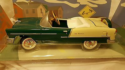 Gearbox Pedal Car Company Limited Edition 1955  Green & White Chevy Bel Air-New!