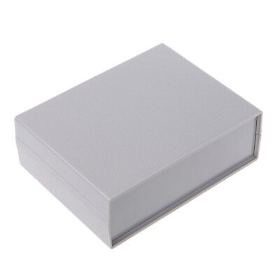 Grey Plastic Electronic Project Box Enclosure Instrument Shell Case 130x170x55MM