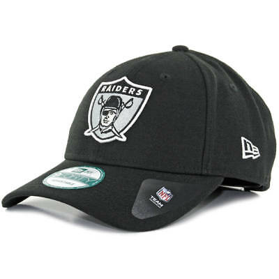 21d49aeddae Oakland Raiders New Era 9FORTY NFL The League Adjustable Snapback Hat Cap  Black